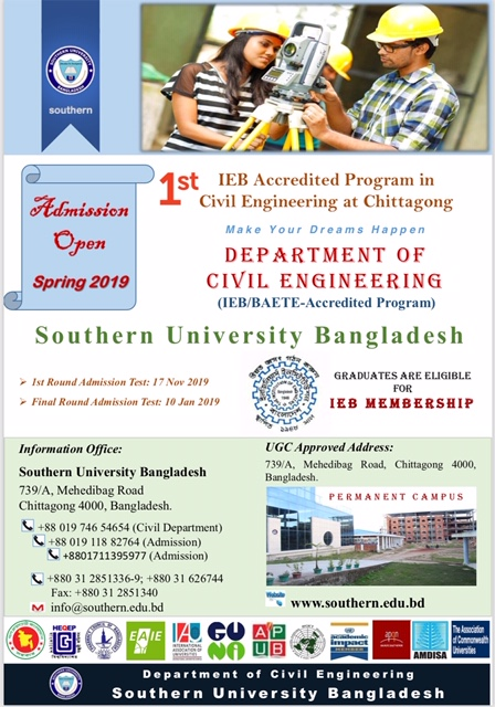 IEB Accredited Program in Civil Engineering